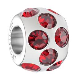 Přívěsek Morellato Drops Crystals Red CZ39