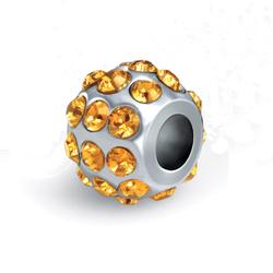 Pøívìsek Morellato Drops Crystals  Yellow