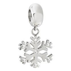 Pøívìsek Morellato Drops Snowflake CZ647