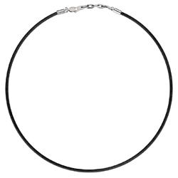 Pánský náhrdelník Morellato Drops Black CZB8