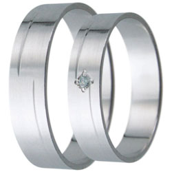 Snubní prsteny kolekce D10