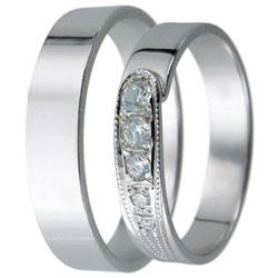 Snubní prsteny kolekce D15