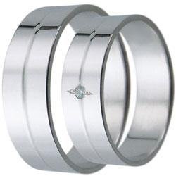 Snubní prsteny kolekce D2