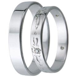 Snubní prsteny kolekce D21