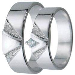 Snubní prsteny kolekce D4