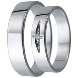 Snubní prsteny kolekce D9