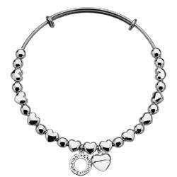 Obrázek è. 4 k produktu: Ocelový náramek Hot Diamonds Emozioni Heart Silver