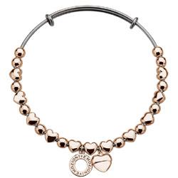 Obrázek è. 4 k produktu: Ocelový náramek Hot Diamonds Emozioni Heart Rose Gold