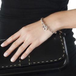 Obrázek č. 1 k produktu: Ocelový náramek Hot Diamonds Emozioni Heart Rose and Silver