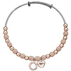 Obrázek è. 12 k produktu: Ocelový náramek Hot Diamonds Emozioni Ula Rose Gold