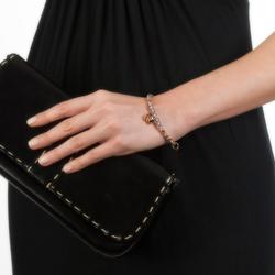 Obrázek è. 4 k produktu: Ocelový náramek Hot Diamonds Emozioni Rose Gold and Purple