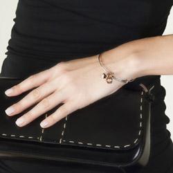 Obrázek č. 1 k produktu: Ocelový náramek Hot Diamonds Emozioni Rose Gold Bangle