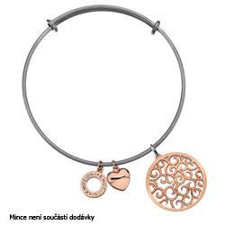 Obrázek č. 2 k produktu: Ocelový náramek Hot Diamonds Emozioni Rose Gold Bangle