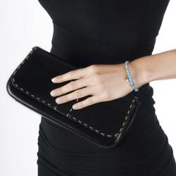 Obrázek è. 6 k produktu: Ocelový náramek Hot Diamonds Emozioni Faux Turquiose Rose Gold