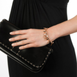 Obrázek è. 6 k produktu: Ocelový náramek Hot Diamonds Emozioni Spike Rose Gold