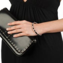 Obrázek è. 6 k produktu: Ocelový náramek Hot Diamonds Emozioni Wrap Black