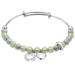 Ocelov� n�ramek Hot Diamonds Emozioni Ula Light Green