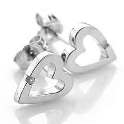 Obrázek č. 5 k produktu: Stříbrné náušnice Hot Diamonds Head Over Heels DE008