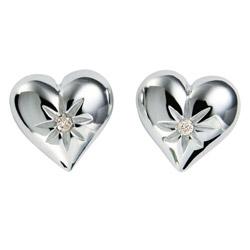 Náušnice Hot Diamonds Just Add Love Two Hearts