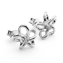 Obrázek è. 4 k produktu: Støíbrné náušnice Hot Diamonds Paradise DE248