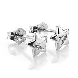 Obrázek è. 2 k produktu: Støíbrné náušnice Hot Diamonds Shooting Stars DE323