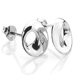 Obrázek č. 5 k produktu: Stříbrné náušnice Hot Diamonds Entwine Circle DE326