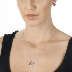 Obrázek č. 2 k produktu: Stříbrné náušnice Hot Diamonds Entwine Circle DE326