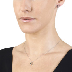Obrázek è. 4 k produktu: Støíbrný pøívìsek Hot Diamonds Flutter Micro DP264