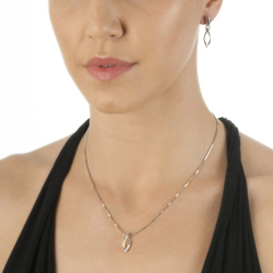 Obrázek è. 2 k produktu: Støíbrný pøívìsek Hot Diamonds Simply Sparkle Open