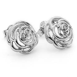 Obrázek č. 2 k produktu: Stříbrné náušnice Hot Diamonds Eternal Rose Stud