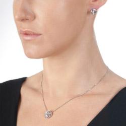 Obrázek č. 1 k produktu: Stříbrné náušnice Hot Diamonds Eternal Rose Stud