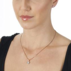 Obrázek č. 1 k produktu: Přívěsek Hot Diamonds Stargazer Circle Rose Gold