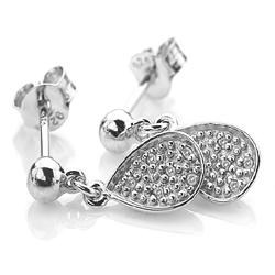 Obrázek č. 2 k produktu: Stříbrné náušnice Hot Diamonds Stargazer Teardrop