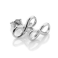 Obrázek è. 2 k produktu: Støíbrné náušnice Hot Diamonds Infinity