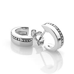 Obrázek è. 4 k produktu: Støíbrné náušnice Hot Diamonds Trio Hoop