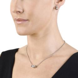 Obrázek č. 1 k produktu: Stříbrné náušnice Hot Diamonds Trio Hoop