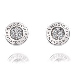 Obrázek è. 6 k produktu: Støíbrné náušnice Hot Diamonds Emozioni Pianeta Clear