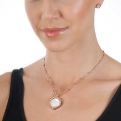 Obrázek è. 6 k produktu: Støíbrné náušnice Hot Diamonds Emozioni Pianeta Rose Gold