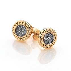 Obrázek è. 4 k produktu: Støíbrné náušnice Hot Diamonds Emozioni Pianeta Gold