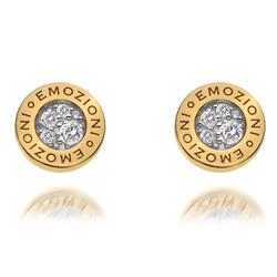 Obrázek è. 6 k produktu: Støíbrné náušnice Hot Diamonds Emozioni Pianeta Gold