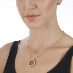 Obrázek è. 8 k produktu: Støíbrné náušnice Hot Diamonds Emozioni Pianeta Gold