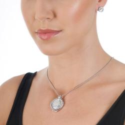 Obrázek è. 4 k produktu: Støíbrné náušnice Hot Diamonds Emozioni Saturno Clear
