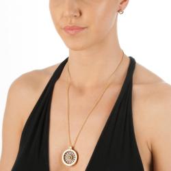 Obrázek è. 6 k produktu: Støíbrné náušnice Hot Diamonds Emozioni Saturno Gold