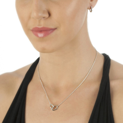 Obrázek è. 4 k produktu: Støíbrný náhrdelník Hot Diamonds Trio Of Diamonds