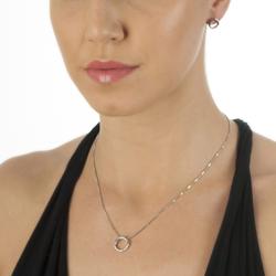 Obrázek è. 4 k produktu: Støíbrné náušnice Hot Diamonds Halo Circle