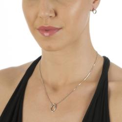 Obrázek è. 4 k produktu: Støíbrné náušnice Hot Diamonds Halo Oval
