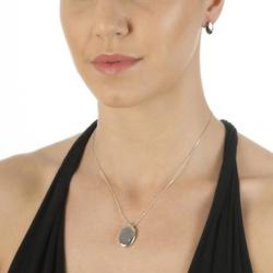 Obrázek è. 4 k produktu: Støíbrný pøívìsek Hot Diamonds Lunar Oval Gold