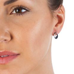 Obrázek è. 6 k produktu: Støíbrné náušnice Hot Diamonds Emerge Oval
