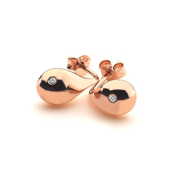 Obrázek è. 2 k produktu: Støíbrné náušnice Hot Diamonds Mirage Drop Rose Gold