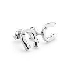 Obrázek è. 2 k produktu: Støíbrné náušnice Hot Diamonds Lucky